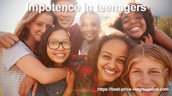 Impotence in teenagers