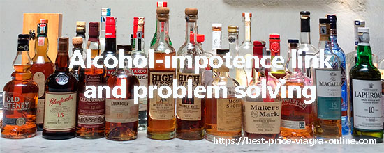 alcohol-impotence link